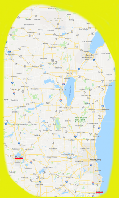 A to K Map yellow